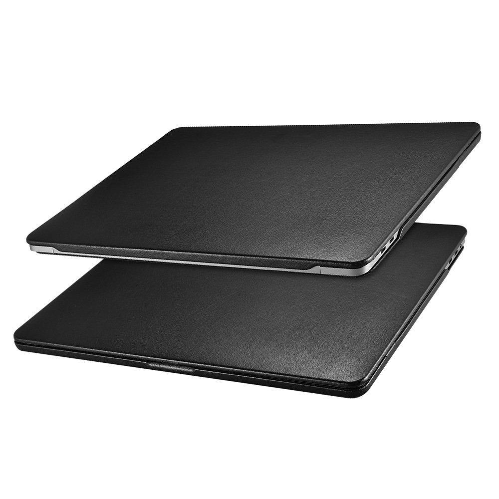 Купить Чехол-Накладка WIWU Hardshell Case Leather для MacBook Pro 13 2016 Black