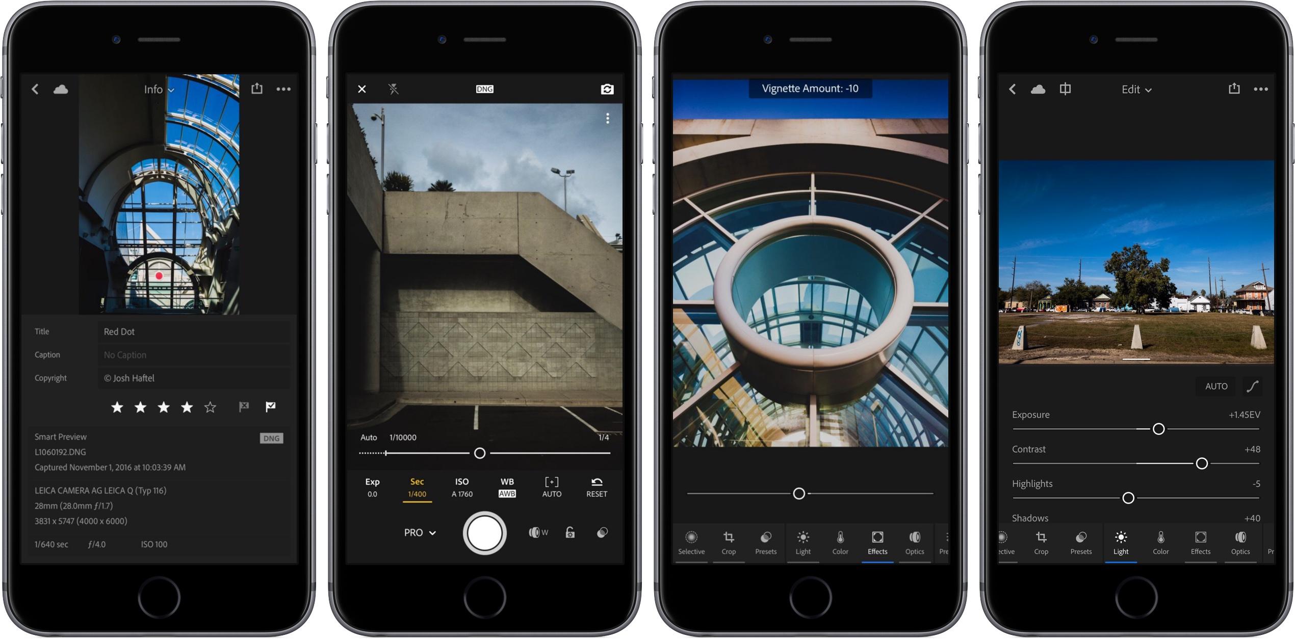 Приложение для редактирования фото на смартфоне