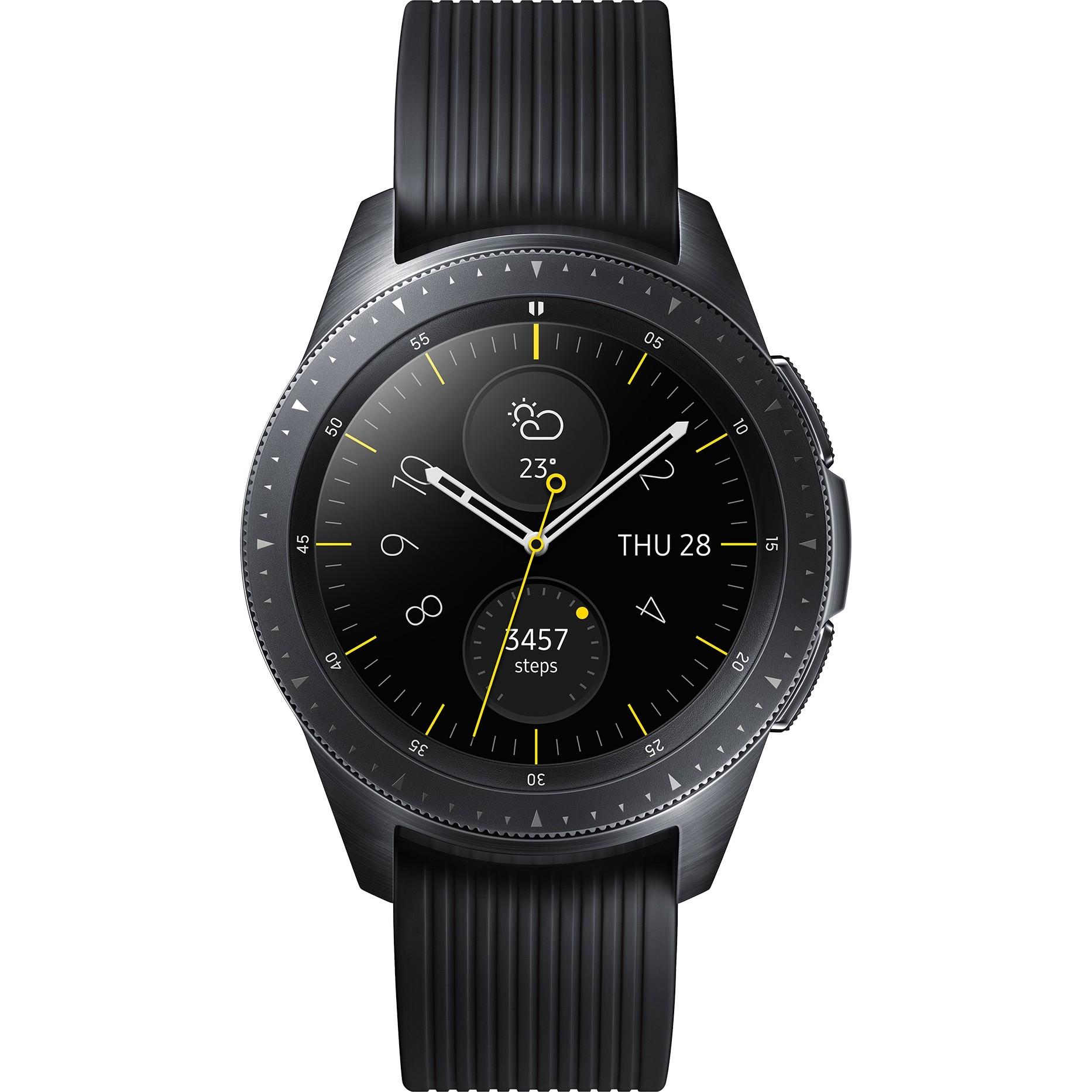 Купить Смарт-часы и браслеты, Смарт-часы Samsung Galaxy Watch 42mm Midnight Black (SM-R810NZKA)