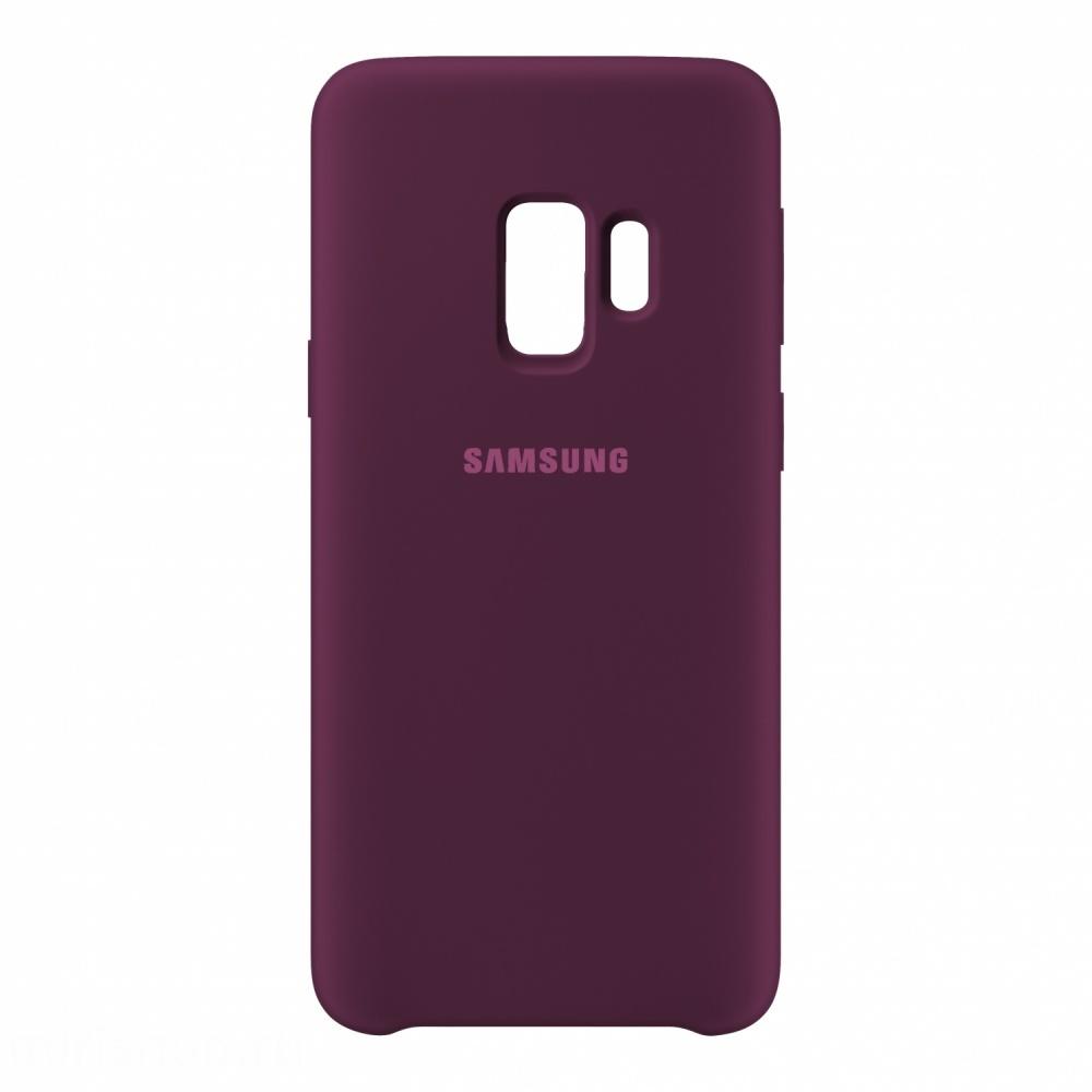 Купить Смартфоны, Чехол Samsung Silicone Cover для Samsung Galaxy S9 Purple