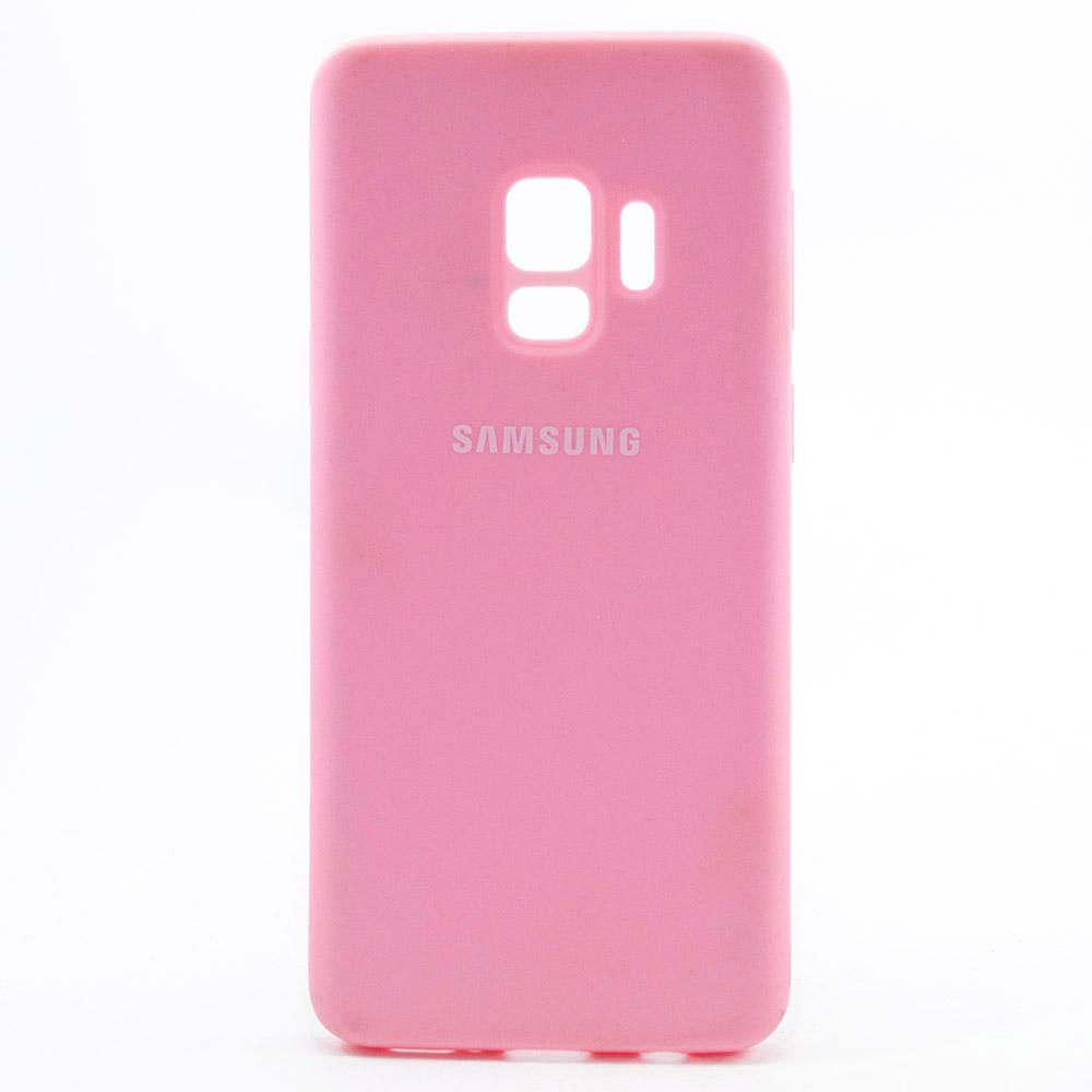 Купить Смартфоны, Чехол Samsung Silicone Cover для Samsung Galaxy S9 Raspberry