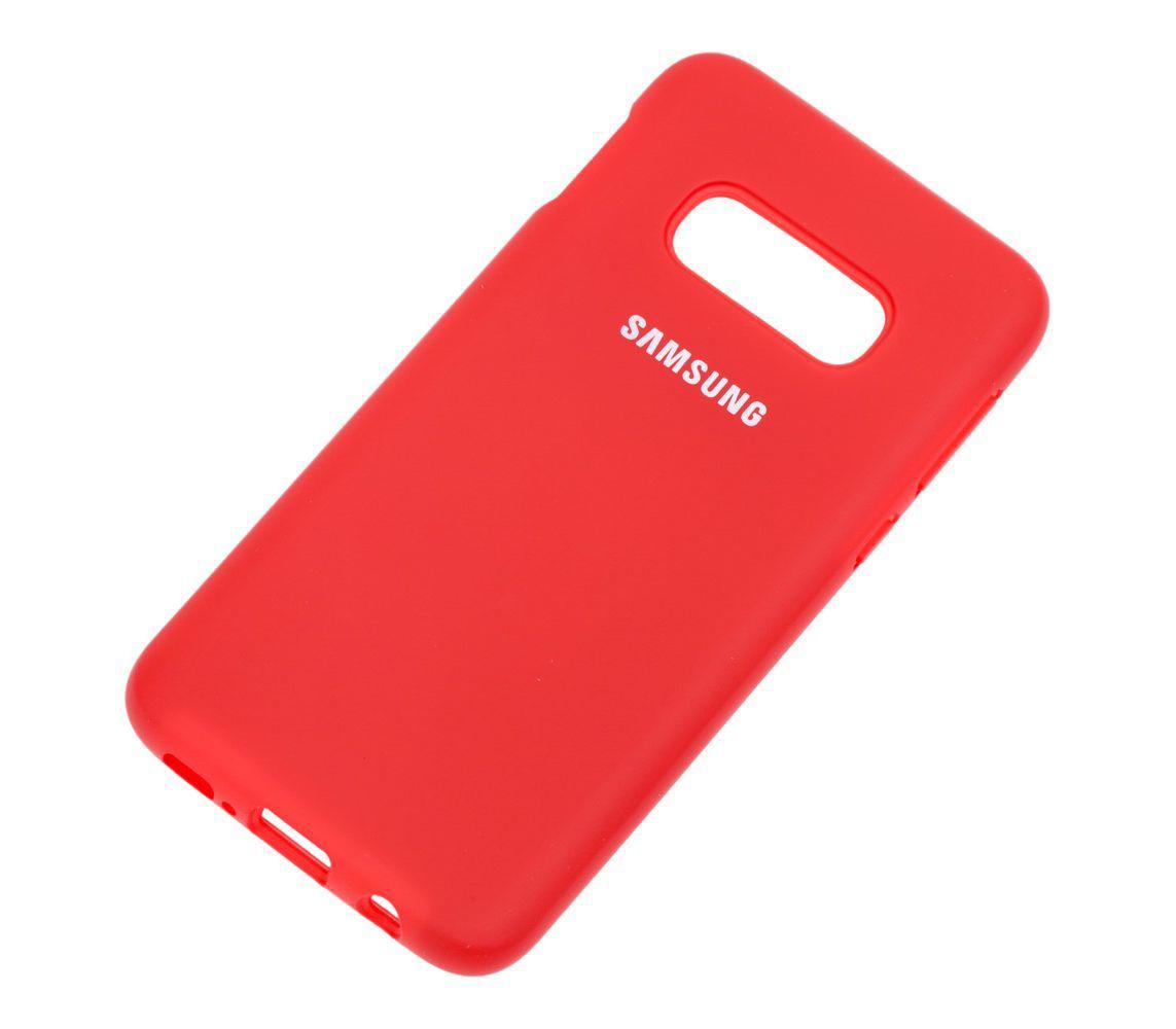 Купить Смартфоны, Чехол Samsung Silicone Cover для Samsung Galaxy S10e Red