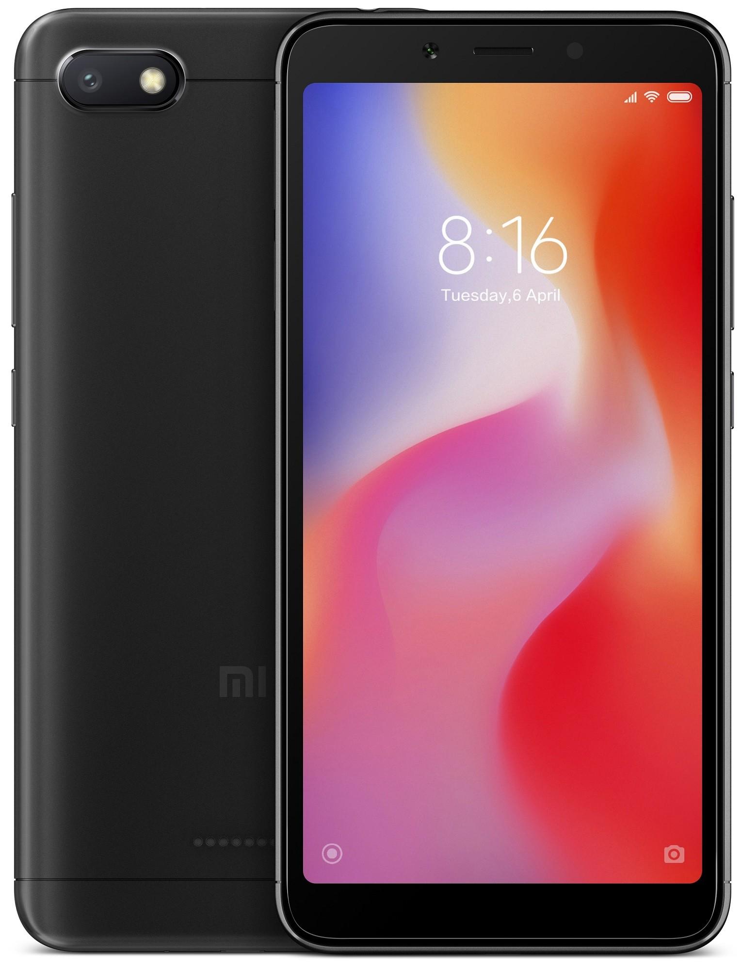 Купить Xiaomi, Xiaomi Redmi 6A 2/16GB Black (Global)