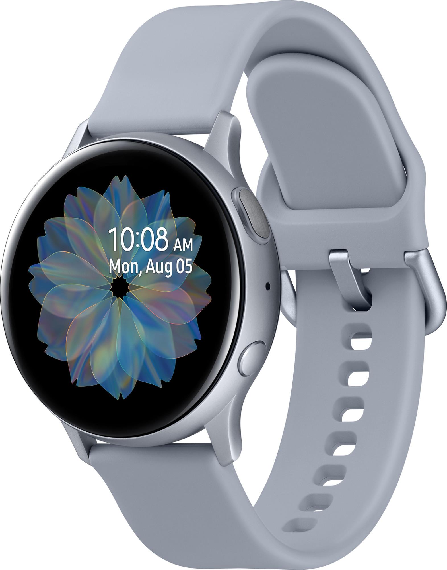 Купить Смарт-часы и браслеты, Смарт-часы Samsung Galaxy Watch Active 2 44mm Silver Aluminium (SM-R820NZSA)